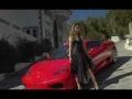 Laska w bikini i Ferrari 360