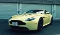 Aston Martin V12 Vantage S na torze Spa