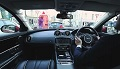 Jaguar XJ z multimedialną szybą